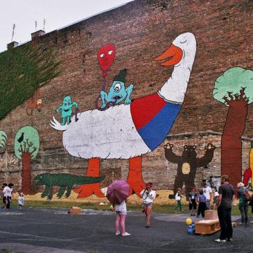 Olimpiada Gier Podwórkowych naPradze 12 lipca 2012r.