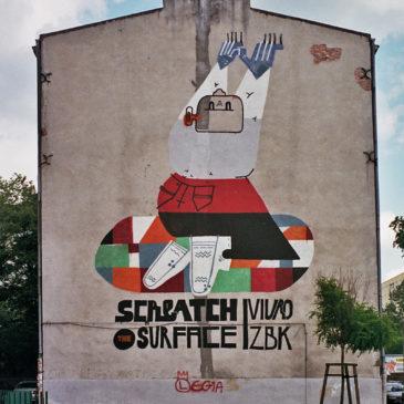 Mural East Side Zbiokul Korsaka 7