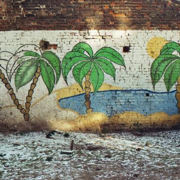 Kolorowe podwórko przy ul.Inżynierskiej
