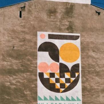 Mural Łochowska Syrenka