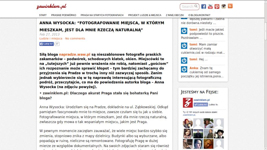 Wywiad zawinklem.pl