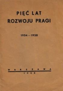 Pięć lat rozwoju Pragi 1934-1938
