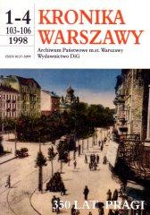 Kronika Warszawy - 350 lat Pragi
