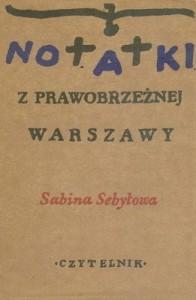 Notatki zprawobrzeżnej Warszawy