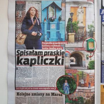 Artykuł  wFakcie – Lista, mapa igaleria praskich kapliczek