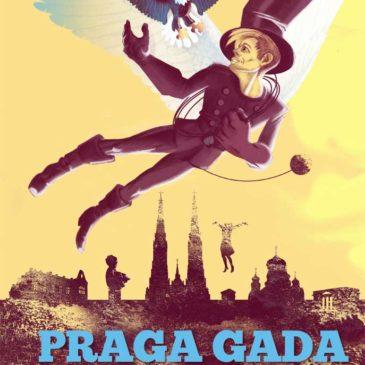 Nowy komiks Praga Gada Omiędzywojniu