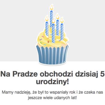 5 urodziny NaPradze