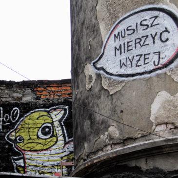 Ul.Ząbkowska 5 – graffiti