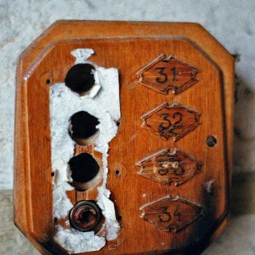 Stare praskie domofony