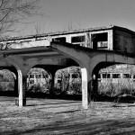 Ruiny dawnej rzeźni ul.Krowia