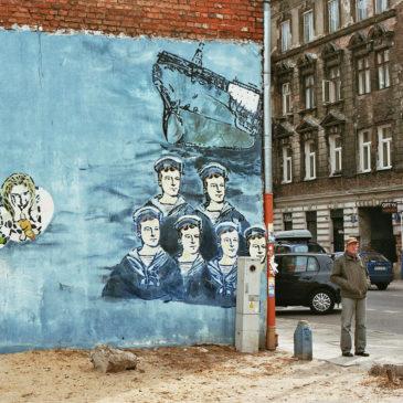 Mural Morze dla Brzeskiej