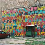 Mural przy ul.Małej 6