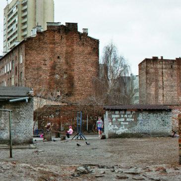 Podwórko pomiędzy ul.Brzeską aTargową