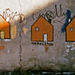 Żółte domki