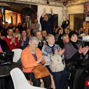 Jak widać na zdjęciu występ Teściowa śpiewa podobał się publiczności :)