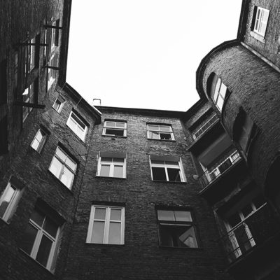 Podwórko kamienicy - Jagiellońska 22