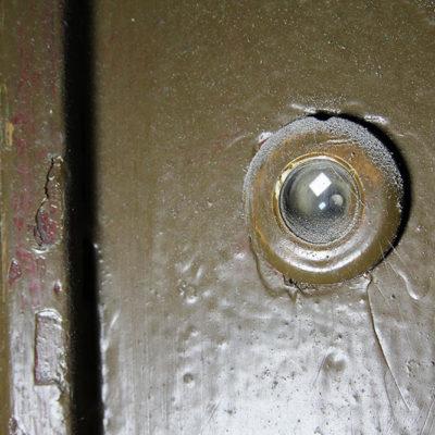 Judasz w drzwiach - Jagiellońska 22