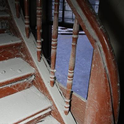 Boczna klatka schodowa - Jagiellońska 22