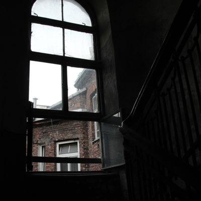 Kamienica posiada wysokie okna. - Jagiellońska 22
