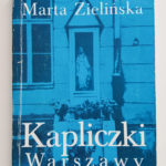 Kapliczki Warszawy kilka słów oksiążce