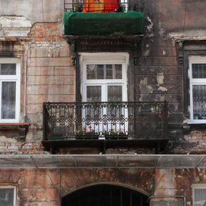 Brzeska 19 - balkon