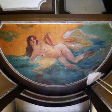 Targowa 84 – sprośne malowidła