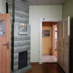 Piec w jednym z mieszkań