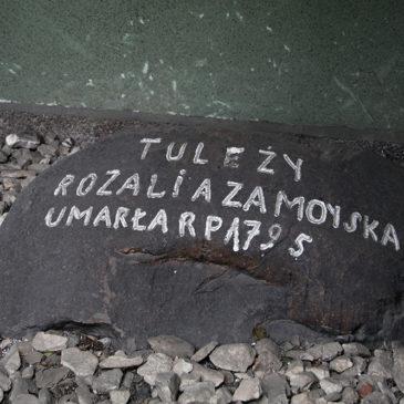 Zapomniany grób naPradze