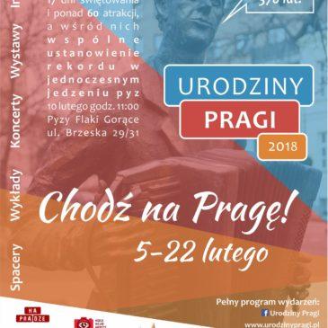 Urodziny Pragi 2018