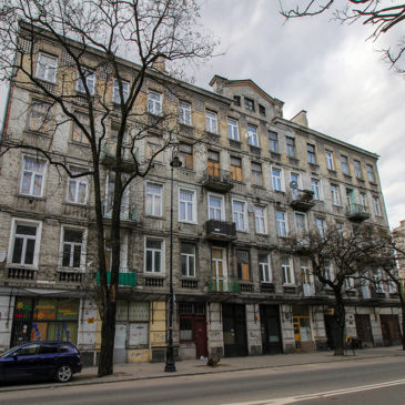 Stalowa 41 – Kamienica Andrzeja Domańskiego iWładysława Pachulskiego