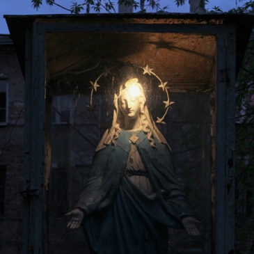 Okrzei 30 – zaginiona kapliczka