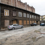 ul. Kawęczyńska 26 – Oficyny Edmunda Burkego (?) iJózefa Wągrowskiego