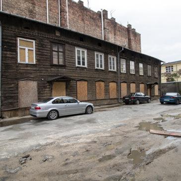 ul.Kawęczyńska 26 – Oficyny Edmunda Burkego (?) iJózefa Wągrowskiego