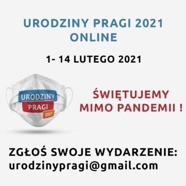 Świętuj znami Urodziny Pragi 2021!